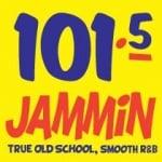 Logo da emissora Radio KJHM 101.5 FM