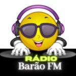 Logo da emissora Rádio Barão FM