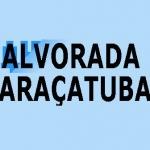 Logo da emissora Rádio Alvorada Hits