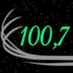 Logo da emissora Rádio Vale do Mel 100.7 FM