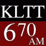Logo da emissora Radio KLTT 670 AM