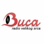 Logo da emissora Buca Radio 89 FM