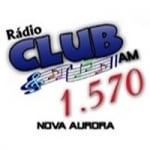 Logo da emissora Rádio Club 1570 AM