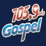 Logo da emissora Rádio Gospel 105.9 FM