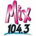 Logo da emissora Radio KMXY 104.3 FM