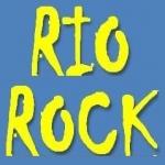 Logo da emissora Rádio Rio Rock