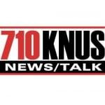 Logo da emissora Radio KNUS 710 AM
