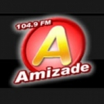 Logo da emissora Rádio Amizade 104.9 FM