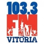 Logo da emissora Rádio Vitória FM 103.3