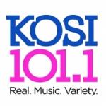 Logo da emissora Radio KOSI 101.1 FM