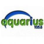 Logo da emissora Radio Aquarius 105.5 FM