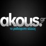 Logo da emissora Radio Akous FM