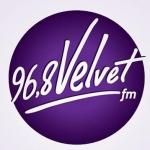 Logo da emissora Radio Velvet 96.8 FM