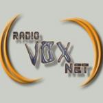 Logo da emissora Rádio Voxnet