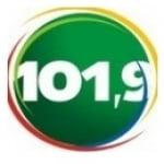 Logo da emissora Rádio Pajuçara 101 FM