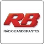 Logo da emissora Rádio Bandeirantes Rio 1360 AM