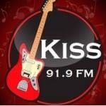 Logo da emissora Rádio Kiss FM 91.9
