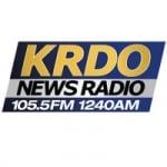 Logo da emissora Radio KRDO 105.5 FM 1240 AM