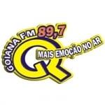 Logo da emissora Rádio Goiana 89.7 FM