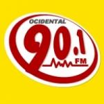 Logo da emissora Rádio Ocidental 90.1 FM