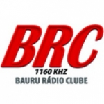 Logo da emissora Rádio Clube Bauru 1160 AM