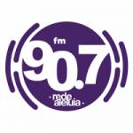 Logo da emissora Rádio Aleluia 90.7 FM