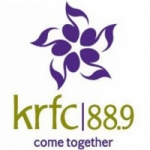 Logo da emissora Radio KRFC 88.9 FM