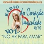 Logo da emissora Rádio Voz do Coração Imaculado 770 AM