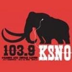 Logo da emissora KSNO 103.9 FM