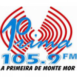 Logo da emissora Rádio Prima 105.9 FM