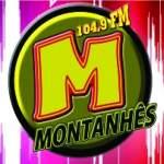 Logo da emissora Rádio Montanhês 104.9 FM