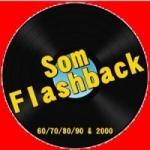 Logo da emissora Rádio Som Flashback