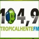 Logo da emissora Rádio Tropicalhente 104.9 FM