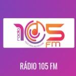 Logo da emissora Rádio 105 FM