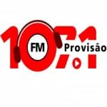 Logo da emissora Rádio Provisão 107 FM Caruaru