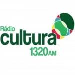 Logo da emissora Rádio Cultura 1320 AM