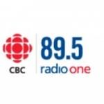 Logo da emissora CBC Radio One 89.5 FM