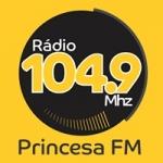 Logo da emissora Rádio Princesa da Serra 104.9 FM