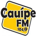 Logo da emissora Rádio Cauípe 104.9 FM