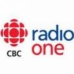 Logo da emissora CBC Radio One 107.1 FM
