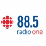 Logo da emissora CBC Radio One 88.5 FM