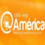Logo da emissora Rádio Web América
