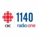 Logo da emissora Rádio CBC Radio One 1140 AM