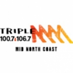 Logo da emissora Radio Triple M Mid North Coast  100.7 FM