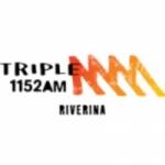 Logo da emissora Radio Triple M Riverina 1152