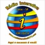 Logo da emissora Rádio Interativa 107.9 FM