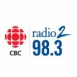 Logo da emissora CBC Radio 2 FM 98.3