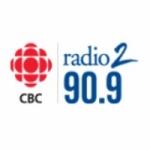 Logo da emissora CBC Radio 2 FM 90.9