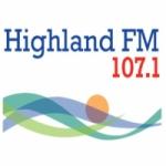 Logo da emissora Radio Highland 107.1 FM