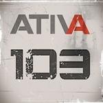 Logo da emissora Rádio Ativa103